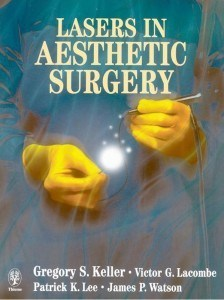 Book, Lasers in Aesthetic Surgery