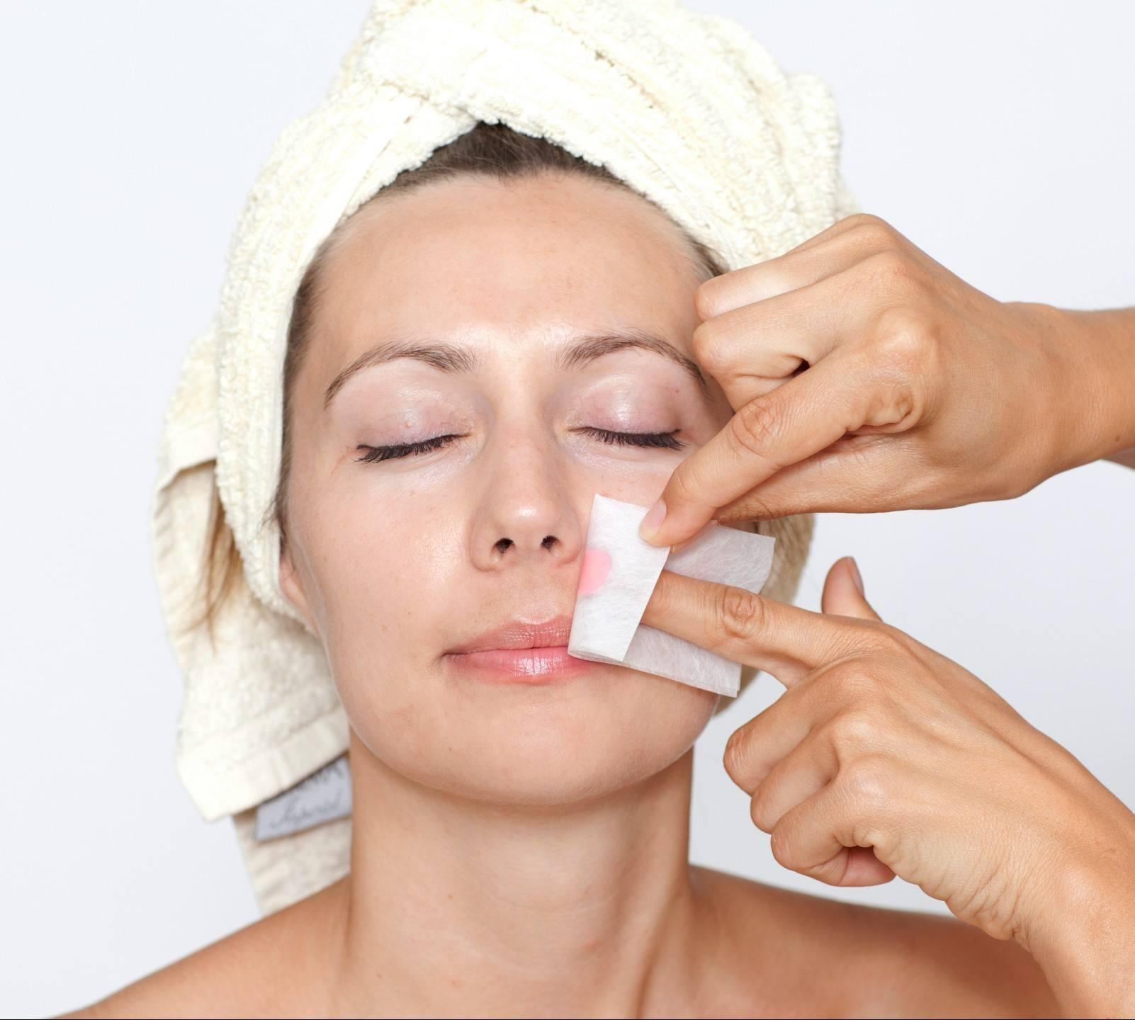 В домашних условиях удалить волосы на лице