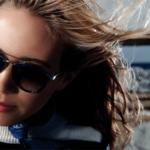 attractive women's large lens sun glasses