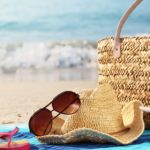 Summer Beach Bag with Accessories