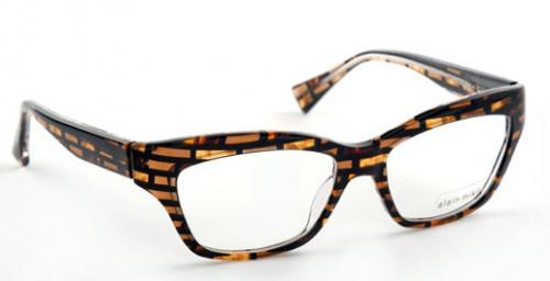 women's attractive eyeglass frames in Brown and Black