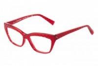 women's attractive eyeglass frames in red