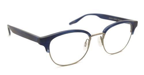 classic horn rimmed eye glasses in navy