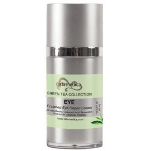 Artemedica skincare Green Tea collection eye enriched eye repair cream