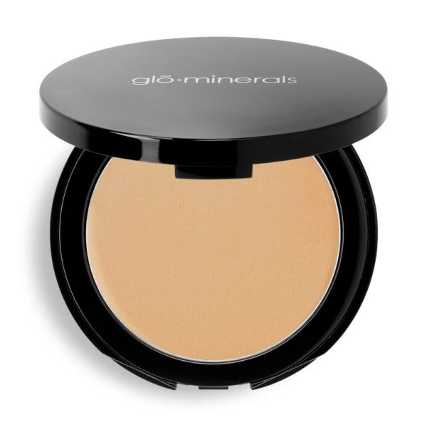 GloMinerals Pressed Base Mineral Powder Golden Medium available at Artemedica