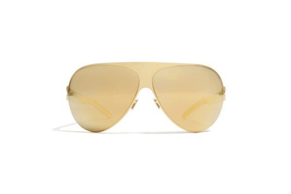 Mykita Franz Gold Sunglasses Santa Rosa