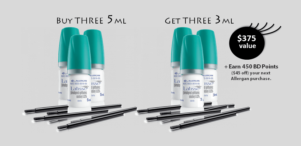 Save up to $375 on Latisse at Artemedica's 2015 Lash Flash Special
