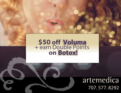 Botox & Juvederm Voluma Savings! - Artemedica