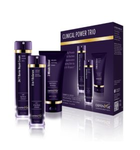 defenage skincare clinical power trio