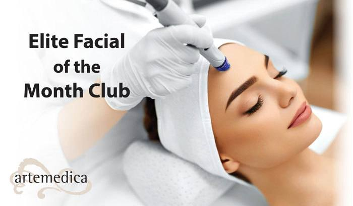 elite facial of the month club at artemedica in sonoma county