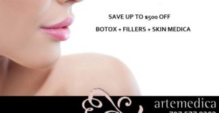 Save $500 OFF Botox and Facial Fillers