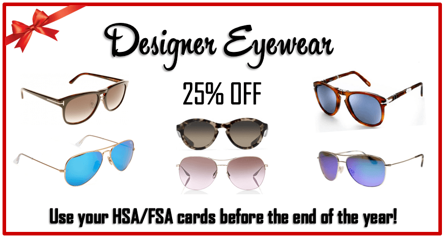 Stop by our 5th Annual Holiday & Peel Event for designer eyewear specials