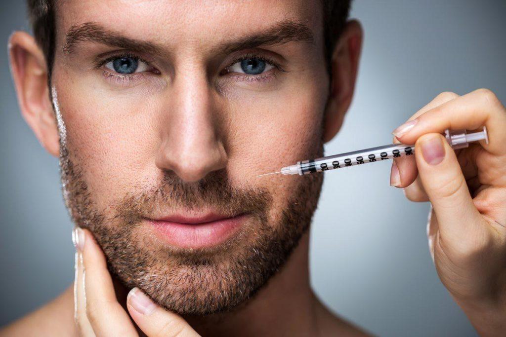 Image result for men botox