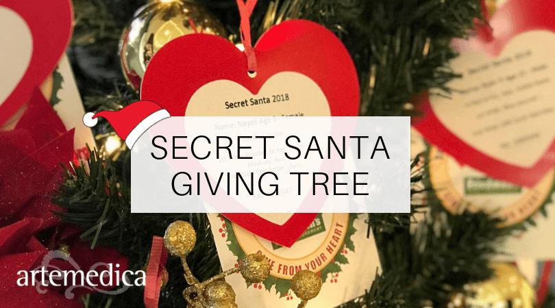 2018 Secret Santa Giving Tree at Artemedica