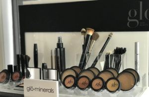 lineup of glo minerals makeup
