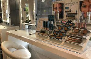 colorescience makeup counter inside artemedica at santa rosa