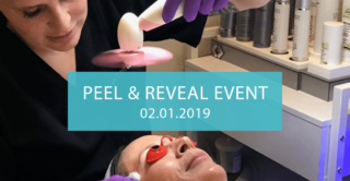 join us at artemedica in sonoma county for our peel and reveal event on february 1, 2019