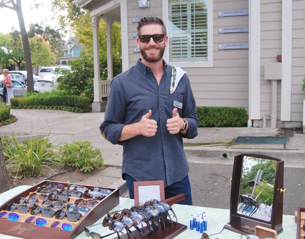 At Artemedica's 2019 Peel and Reveal Event, visit Maui Jim's Truck Show.