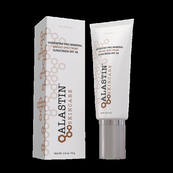 Alastin skincare hydratint pro mineral broad spectrum sunscreen SFP 36