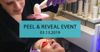 join us at artemedica in sonoma county for our peel and reveal event on march 13, 2019