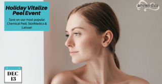 join us at artemedica in sonoma county for our holiday peel event on december 13, 2020