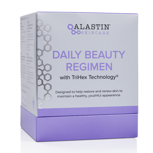 Alastin skincare daily beauty regimen with trihex technology to restore and renew skin