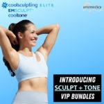 coolsculpting, emsculpt, and cooltone VIP bundles
