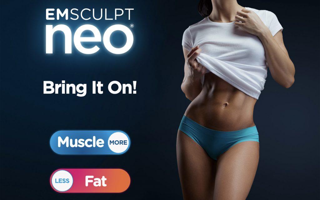 EmSculpt NEO fat burning and muscle building treatments at Artemedica in Santa Rosa