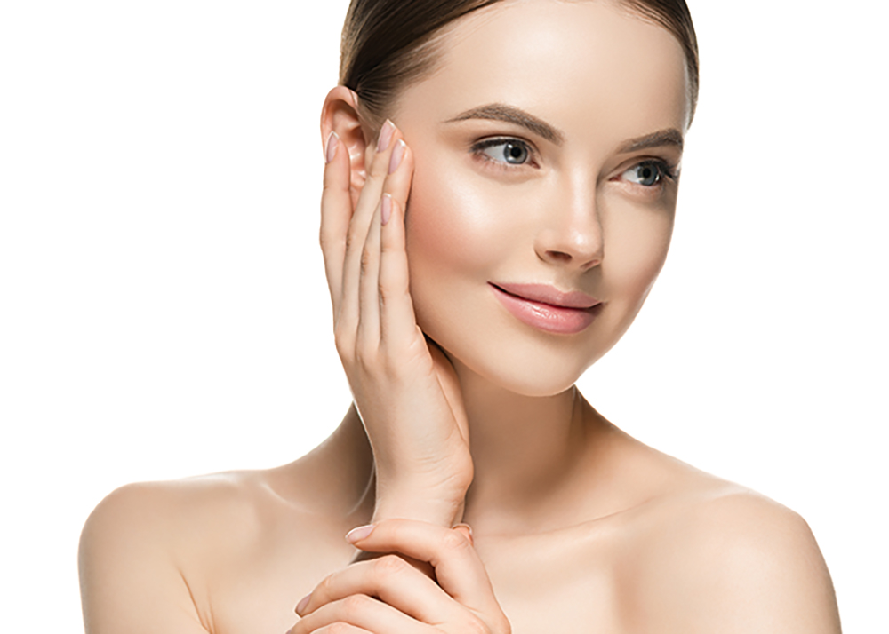 Beautiful women with youthful, healthy looking skin clear and brilliant complete treatment with TOUCH laser