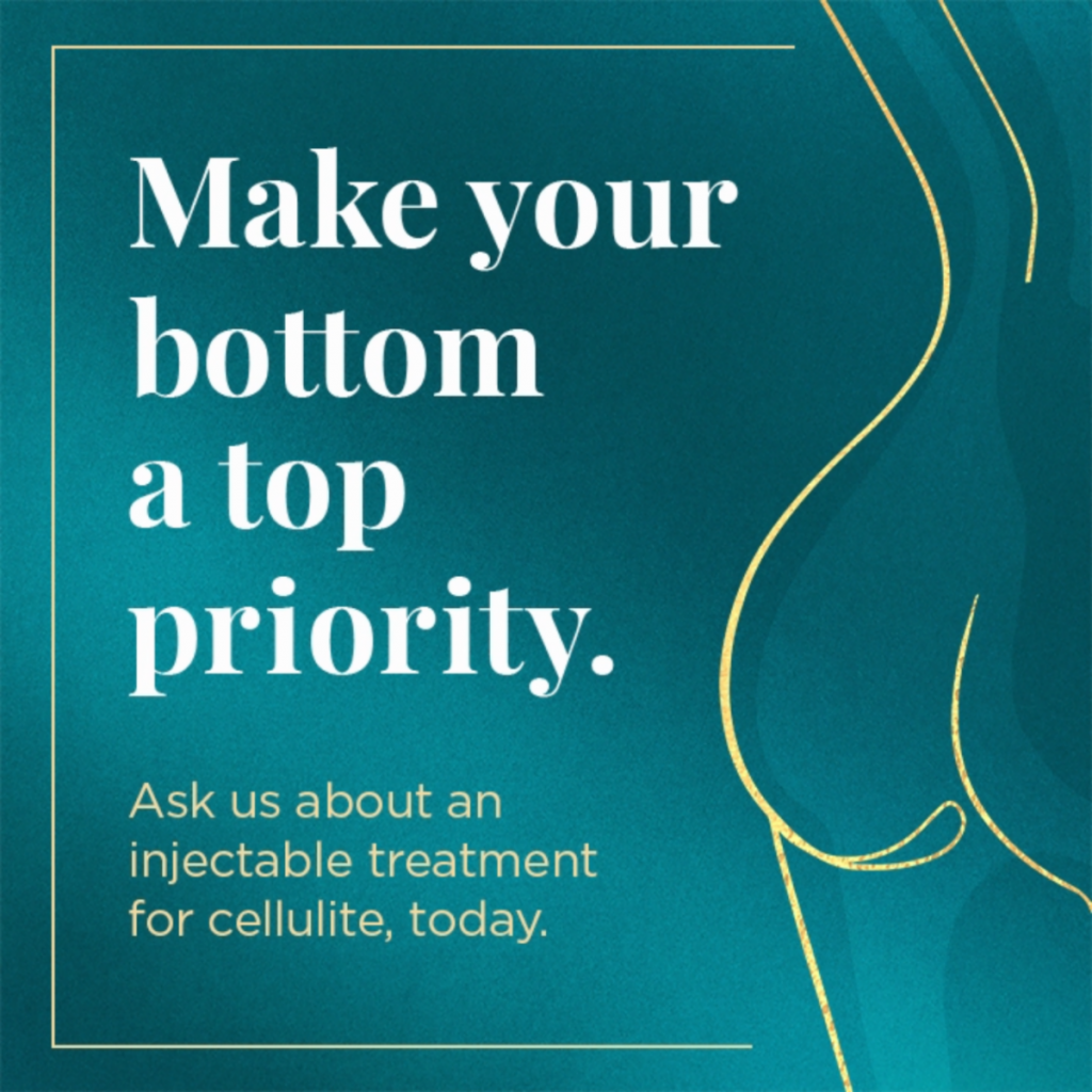 QWO Injectable Cellulite Treatments Available now at Artemedica in Santa Rosa